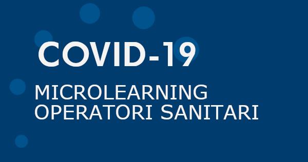 Covid 19 Microlearni operatori sanitari
